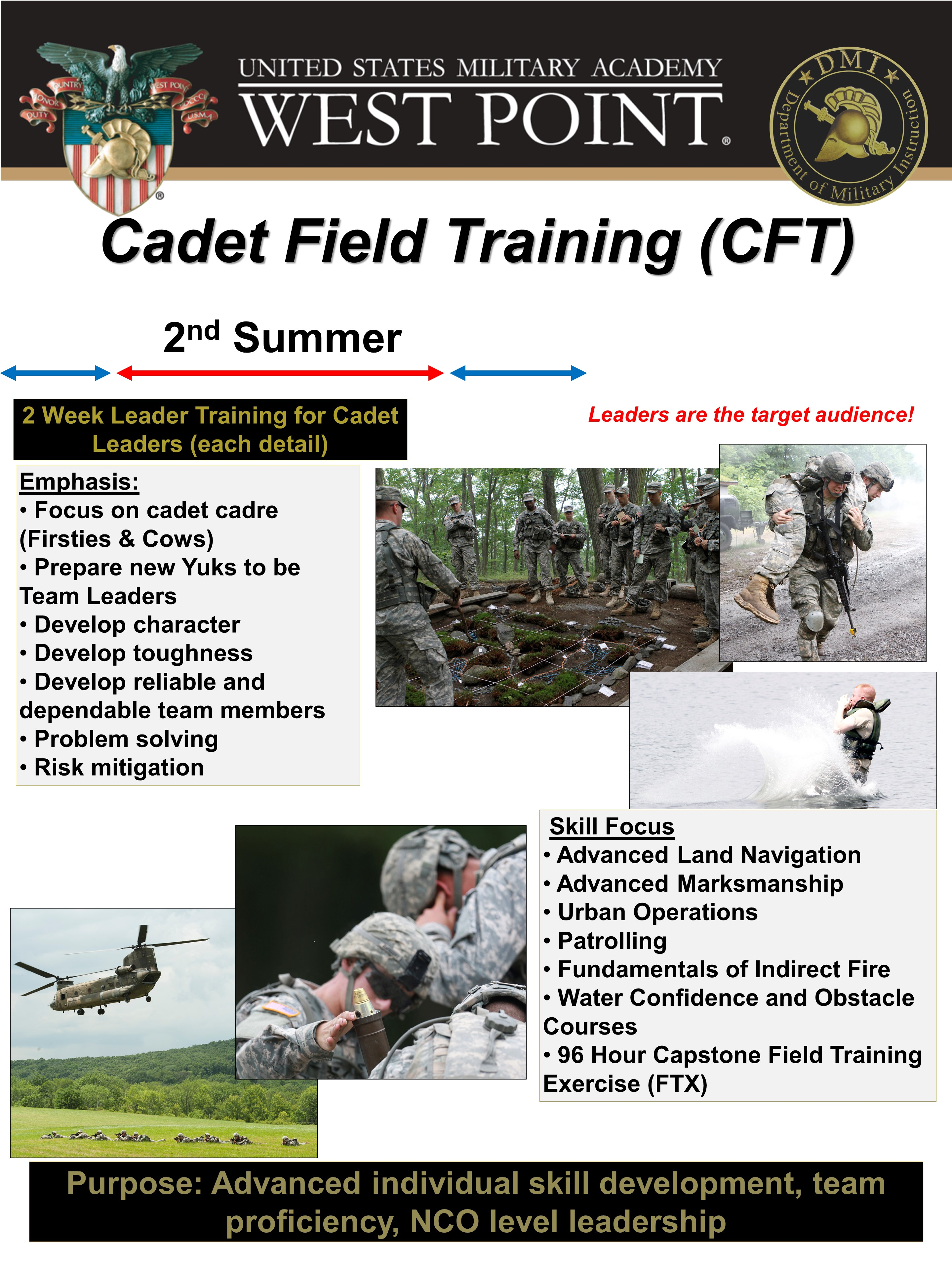 Cadet Field Training