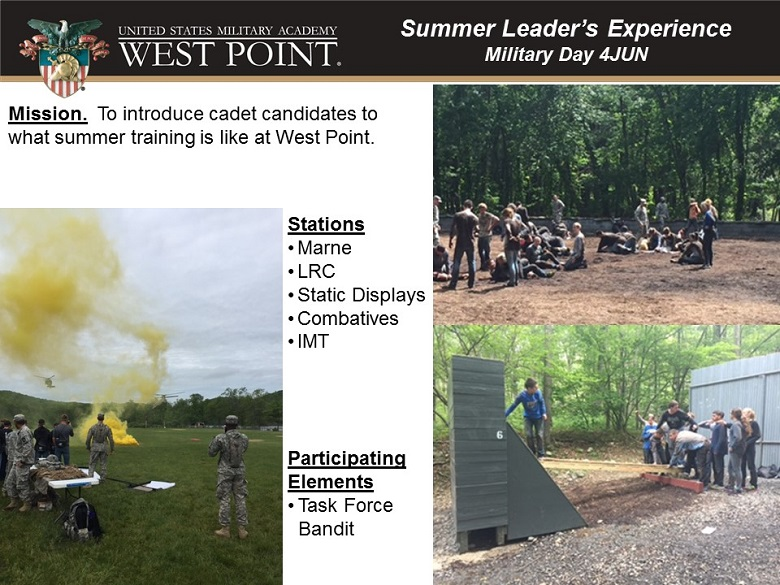 Summer Leaders Experience