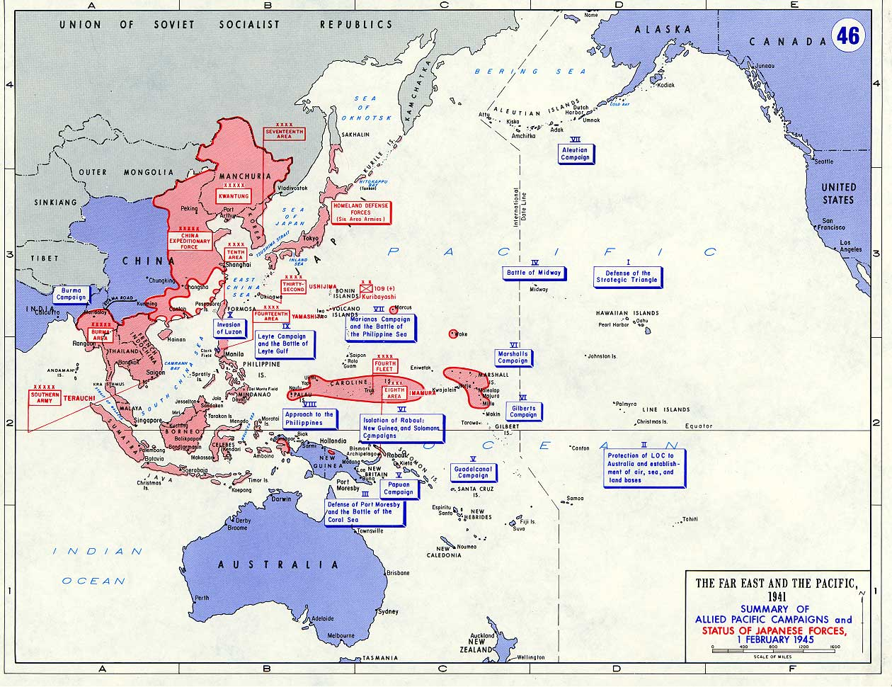 World War II - Asia-Pacific | United States Military Academy ... on map of japan in 600-1400, map japan 1939, map of heian era japan, map of japan meiji, map of early japan, map of 109 in japan,