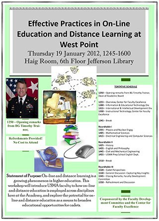 Distance Learning at West Point