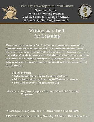 Writing Workshop Flyer