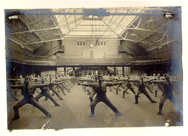 Side Lunge Historic Picture
